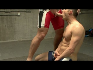 Gay wrestling:UK Naked Men - Kurt Rogers & Nick Ford